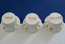 Fender Vintage 70 S RI Stratocaster Strat Guitar Knobs control volume, Tone