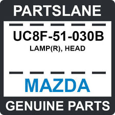 UC8F-51-030B Mazda OEM Genuine LAMP(R), HEAD