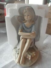Porcelain Fairy Figurine by Classic Treasures Sweet, Beautiful FREE SHIPPING