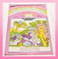 ❤️My Little Pony G1 Merchandise 1986 VTG Magazine Comic #35 Snowdrop Ceremony❤️