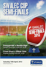 Welsh Cup SEMIFINALI 2012 Pontypridd V Newbridge & Cross KEYS V ebbw VALE