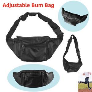 Travel Bum Bag Sports Wallet Unisex Pouch Money Purse Waist Belt Fanny Pack