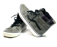 3906ae8b742b3d Vans Old Skool High Top With Scotchgard Protection Grey Suede Mens sz 8.5