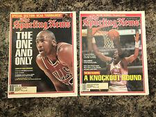 1995 Michael Jordan Basketball Sporting News Newspapers.