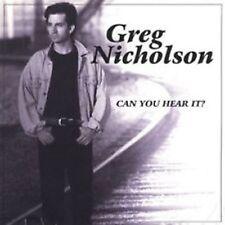Greg Nicholson-Can you hear it                    AOR Indy Release