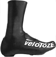 VeloToze Road Racing Bike Bicycle Tall Overshoes Black UK 6-8 EU 40.5-42.5