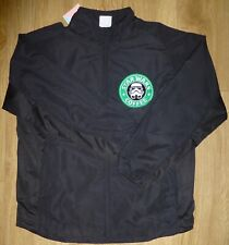 STAR WARS COFFEE SHOP-Tracksuit Top-Embroidered-Black-Full Zip NEW Size Medium