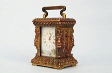 Reiseuhr  Tischuhr  Bronze  Frankreich um 1910   Travel watch