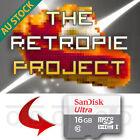 Raspberry Pi 3 RetroPie Retro Gaming Arcade Preload microSD Card