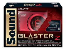 Sound Blaster Z PCIe Gaming Sound Card with High Performance Headphone Amp an...