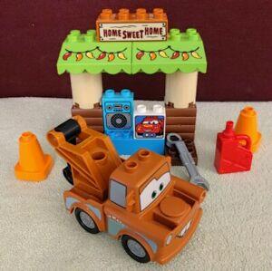 Lego Duplo 10856 - La Cabane de Martin - Complet - Cars 3 Disney Pixar garage