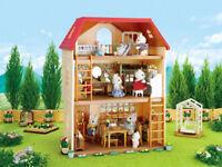 NEW SYLVANIAN FAMILIES 4755 Cedar Terrace - Figures NOT Included