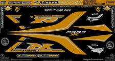 BMW F900XR 2020 Motorcycle Rear Fairing Paint Protector Gel Protection Decal Kit