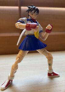 Loose STREET FIGHTER 2 2005 Sakura Takara Microman Action Series MA-12 Capcom