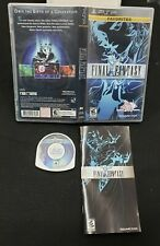 Final Fantasy Playstation Psp Game Complete & Tested