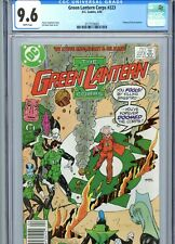Green Lantern Corps #223 CGC 9.6 White Pages DC Comics 1988