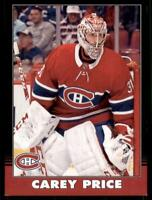 2020-21 UD O-Pee-Chee Retro Black Border 13 Carey Price /100 Montreal Canadiens