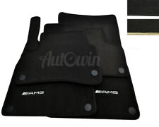 Floor Mats For Mercedes-Benz AMG Black or Beige Rounds Tailored Fit All Models