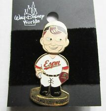 Disney Bobbing head ESPN baseball player Pin