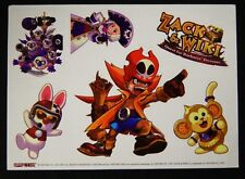 SDCC San Diego Comic Con 2007 CAPCOM Zack & Wiki Decals Quest for the Barbaro's