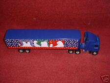 "1996 Issue Coca-Cola POLAR BEAR ""Collectible"" Diecast METAL ""TRACTOR TRAILER"""