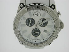 "AWI  INTERNATIONAL  WATCH  SILVER/BLACK DIAL""FRANCK MULLER GROUP"""