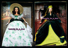 Scarlett O'Hara Barbie Doll Timeless Treasures Gone with the Wind BBQ NO BOX Lot