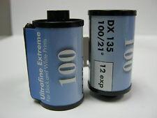 10 Rolls Ultrafine Xtreme 100 35mm Black & White Film 12 exp Fresh 2021 Dating