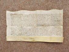 More details for 1593 warwickshire 16th century elizabethan latin manuscript vellum document