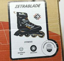 Rollerblade Zetrablade Black Orange Inline Skates  Men's Size 11 US SG5 Bearing