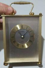 Vintage Acctim Quartz Carriage Clock - VGC / FWO