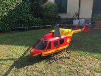 BK 117 RC-Hubschrauber mit Vario-Mechanik und Benzinmotor Zenoah G260