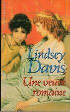 UNE VEUVE ROMAINE LINDSEY DAVIS LABYRINTHES 2000