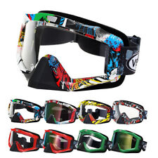 Adult MX Goggles Motocross MTB Off-Road Dirt Riding ATV Bike Eyewear PSB New