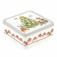 Wrendale Christmas Tin The Country Set