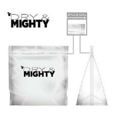 Dry & Mighty X-Large 25 Pack Storage Bag Smell Tear Proof Ziplock Heat Seal Bag
