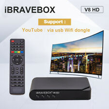 iBRAVEBOX V8 HD DVB-S2 Digital SAT Free Satellite Receiver Web TV Set Top Boxes