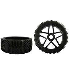4PCS 1/8 Off-Road 17mm Hub Wheel Rim & Tires Tyre for RC Car Buggy XRAY LOSI H I