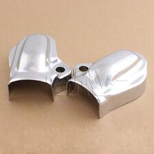 2 x Chrome Bar & Shield Rear Axle Cover For Harley VRSC V-Rod 02-17 Muscle VRSCF