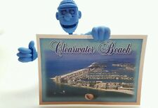Vtg Postcard Unposted Clearwater Beach Florida Seminole Postcard Mike Trevor Pic