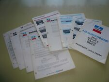 1974 MOPAR Air Conditioners and Service Parts Guide & Bulletins Parts Pricing