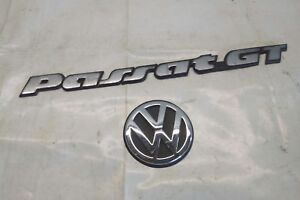 VW Passat 35i Facelift GT Zeichen Emblem Heckklappe GT