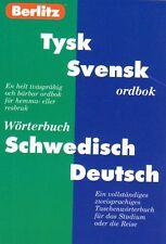 Wörterbuch schwedisch,Berlitz Tyska Ordbok, Tysk Svensk Schwedisch Deutsch NEU