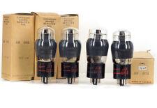 4x 6V6G/6V6GT MARCONI NOS MATCHED Tube  Röhre Lampe TSF Valvola 진공관 真空管 Valve