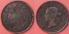 Fine 1893 Canada Large 1 Cent