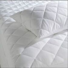 Quilted Mattress Protector Cover  Double Extra Deep Fully Fitted