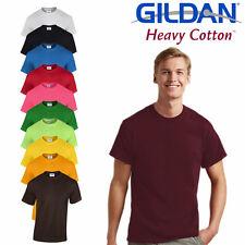 Maglietta Maniche Corte T-Shirt Uomo GILDAN Heavy Cotton Basica Yeezy Kanye West