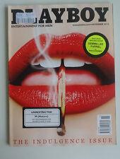 US Playboy Magazine *November 2013 *The Indulgence Issue