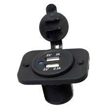 DC 12V Dual USB Car Cigarette Lighter Socket Charger Power Adapter Accessory UK