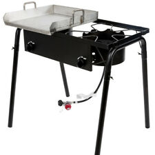 "32"" Double Burner Propane Gas Outdoor Griddle Camping Stove Grill LP Stove Range"